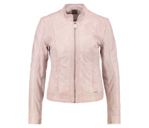 PAYSANDU Lederjacke light rose
