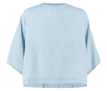 Bluse bleached indigo