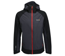 SEMITA Outdoorjacke seal grey/black