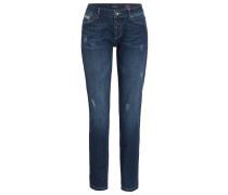 Jeans Straight Leg blau