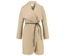 Wollmantel / klassischer Mantel camel