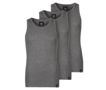 3 PACK - Top - dark grey melange