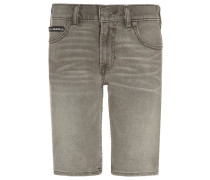 WORKER Jeans Shorts grey stone