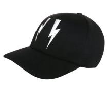 Cap - black/off white