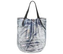 Shopping Bag blue/black/denim