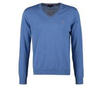Strickpullover - blue melange