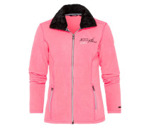 FINLAND EXPLORE Fleecejacke light pink