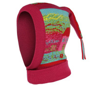Mütze pink/rot/türkis