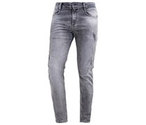 JUSTIN X Jeans Tapered Fit wolf grey wash