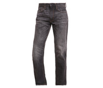 Jeans Straight Leg washed grey