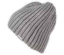 Mütze metallic silver