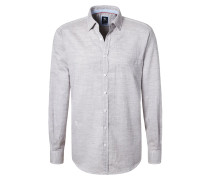 REGULAR FIT - Hemd - beige