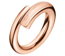 SCENT - Ring - rosegold-coloured