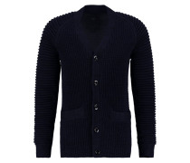 GStar SUZAKI CARDIGAN KNIT L/S Strickjacke dark black/sartho blue