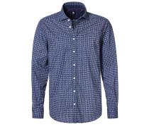 REGULAR FIT Hemd blau