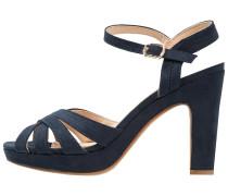 High Heel Sandaletten dunkelblau