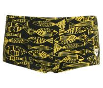 FISK Badehosen Pants black yellow/star