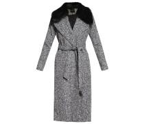 Wollmantel / klassischer Mantel black