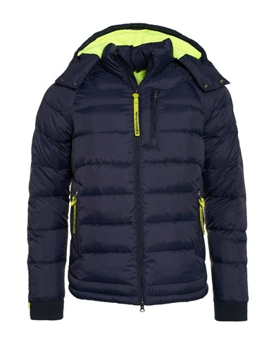 superdry herren superdry winter wet scuba winterjacke navy fluro lime reduziert. Black Bedroom Furniture Sets. Home Design Ideas