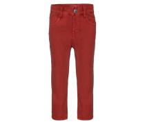NIJON Jeans Straight Leg brick red