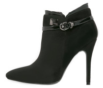 High Heel Stiefelette black