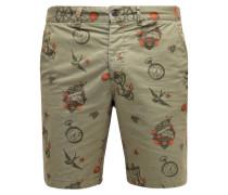 JJITATTOO Shorts deep lichen green