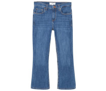 TRUMPET - Flared Jeans - dark blue