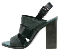 VOE High Heel Sandaletten dark green