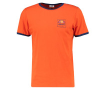 AGOSTI TShirt print red orange