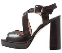 High Heel Sandaletten - bacon/testa di moro/cucitore