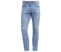 CULVER Jeans Slim Fit bleached blue denim
