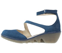 PLAN Keilpumps blue