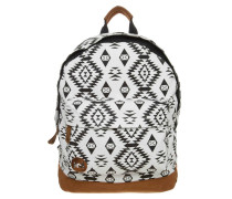 NATIVE - Tagesrucksack - black/white