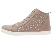 Sneaker high - taupe