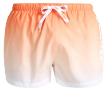 ROMBO - Badeshorts - apricot/optic white