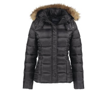 SINKO Winterjacke dark grey melanged