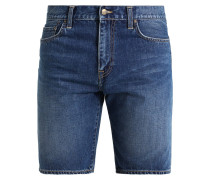 DAVIES - Jeans Shorts - blue strand washed