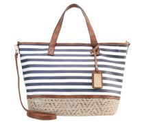 Shopping Bag - navy/white