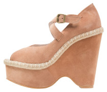 Plateausandalette - pink