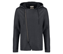 ERIE Sweatjacke washed black