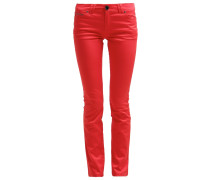 Jeans Straight Leg rouge