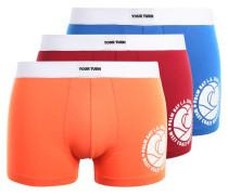 3 PACK - Panties - blue/orange/red