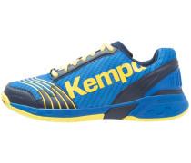 ATTACK THREE - Handballschuh - deep blue/lime yellow