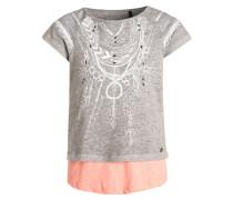 2IN1 Sweatshirt gris chiné light