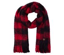 ORKNEY Schal red/black