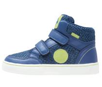 Sneaker high blue/green