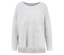 PEONY - Strickpullover - light grey