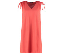 Jerseykleid fire coral