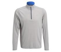 STREAKER Langarmshirt true gray heather/ultra blue