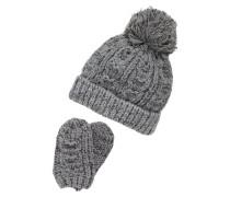 SET - Mütze - grey